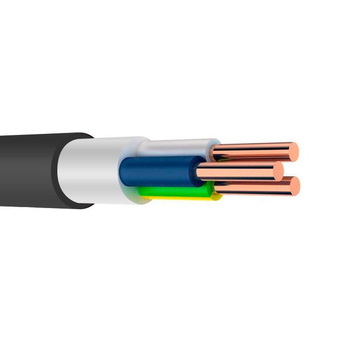 кабель силовой ввгнг ls 3х2.5 гост цена